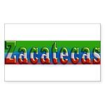 Zacatecas - 1d Sticker (Rectangle 50 pk)