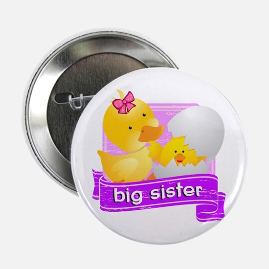 """Big Sister Duckling 2.25"""" Button"""