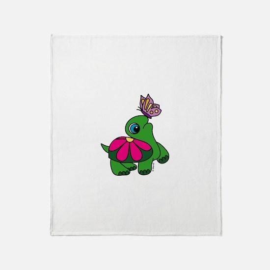 Lil' Turtle Throw Blanket