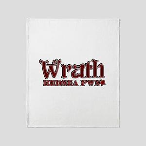 Wrath Throw Blanket