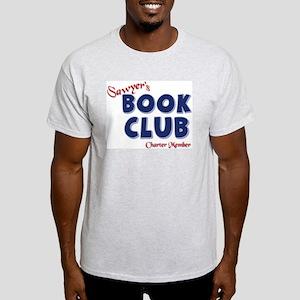 Sawyer's Book Club Ash Grey T-Shirt