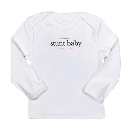 Stunt Chick Long Sleeve Infant T-Shirt