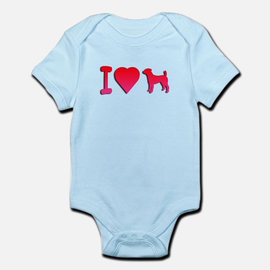 Jack Russell Terrier Infant Bodysuit