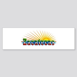 Zacatecas Sol Sticker (Bumper)