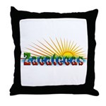 Zacatecas Sol Throw Pillow