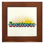 Zacatecas Sol Framed Tile