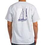 Precision 28 Ash Grey T-Shirt