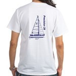 Precision 28 White T-Shirt