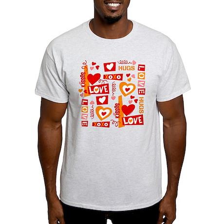 Love Talk Valentine Light T-Shirt