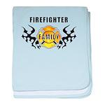 Firefighter Family baby blanket