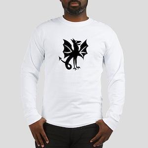 Armless Flying Dragon Long Sleeve T-Shirt