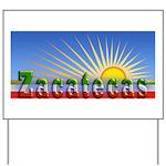 Cielo Azul de Zacatecas Yard Sign