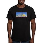 Cielo Azul de Zacatecas Men's Fitted T-Shirt (dark