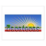 Cielo Azul de Zacatecas Small Poster