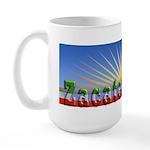 Cielo Azul de Zacatecas Large Mug