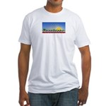 Cielo Azul de Zacatecas Fitted T-Shirt