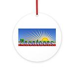 Cielo Azul de Zacatecas Ornament (Round)
