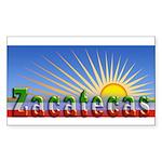 Cielo Azul de Zacatecas Sticker (Rectangle)