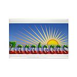 Cielo Azul de Zacatecas Rectangle Magnet