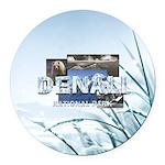 ABH Denali Round Car Magnet