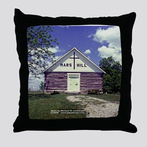 Mars Hill Church Throw Pillow