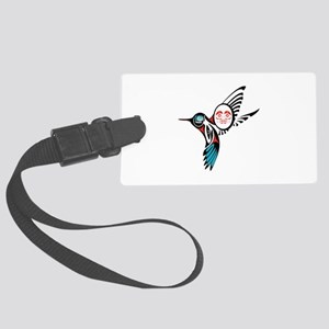 GLIDING AROUND Luggage Tag