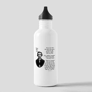 Edgar Alan Poe Stainless Water Bottle 1.0L