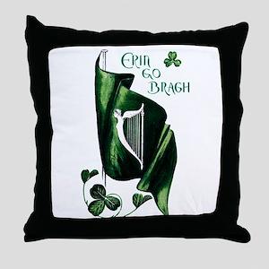1912 Ireland Forever Throw Pillow