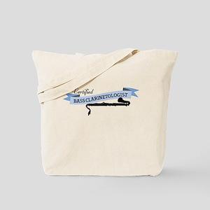 Bass Clarinetologist Tote Bag