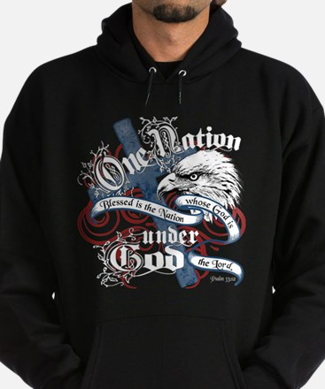 One Nation - Blessed Hoodie (dark)