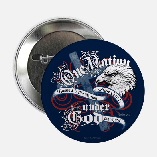 "One Nation - Blessed 2.25"" Button (10 pack)"