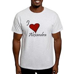I love Alexandra T-Shirt
