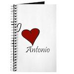 I love Antonio Journal