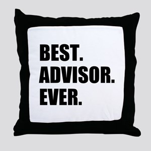 Best Advisor Ever Throw Pillow