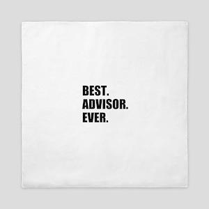 Best Advisor Ever Queen Duvet