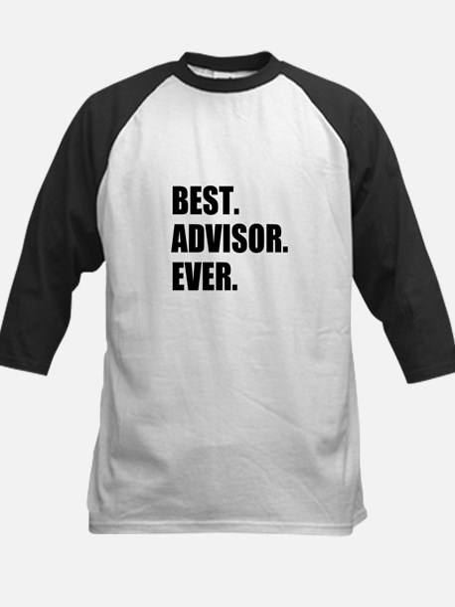 Best Advisor Ever Baseball Jersey