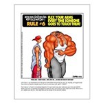 MUSCLEHEDZr Etiquette: #6 - Small Poster