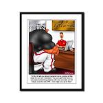Sign-up - Framed Panel Print