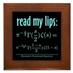 Riemann's Functional Equation Framed Tile