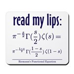 Riemann's Functional Equation Mousepad