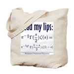 Riemann's Functional Equation Tote Bag