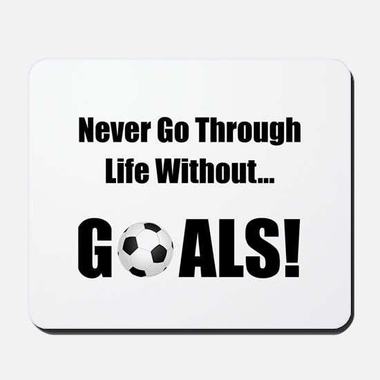 Soccer Goals! Mousepad