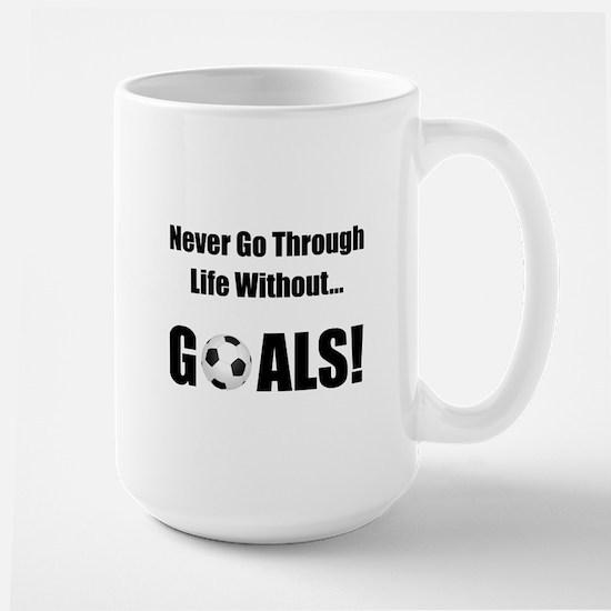 Soccer Goals! Large Mug