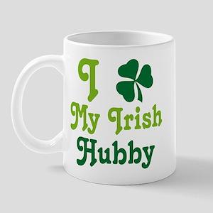 I Love My Irish Hubby Mug