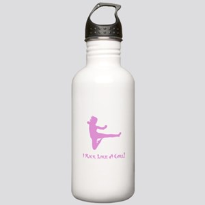 Kick Like A Girl! Stainless Water Bottle 1.0L