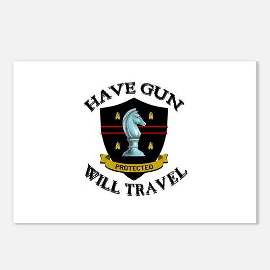 Have Gun Postcards (Package of 8)
