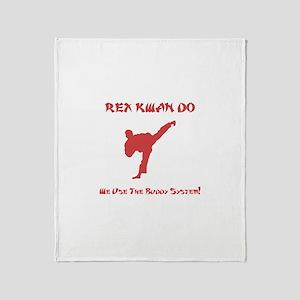 Rex Buddy System! Throw Blanket