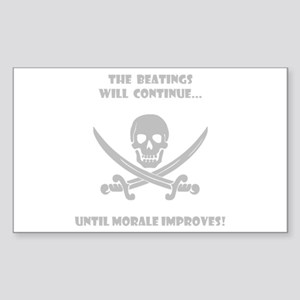 Morale Improvement! Sticker (Rectangle)
