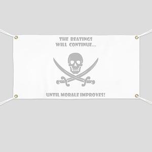 Morale Improvement! Banner