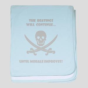 Morale Improvement! baby blanket